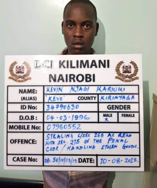 Four arrested for stealing laptops