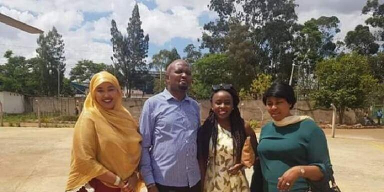 Jacque Maribe makes first appearance after release