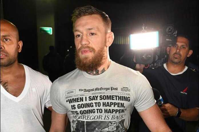 Conor McGregor freed