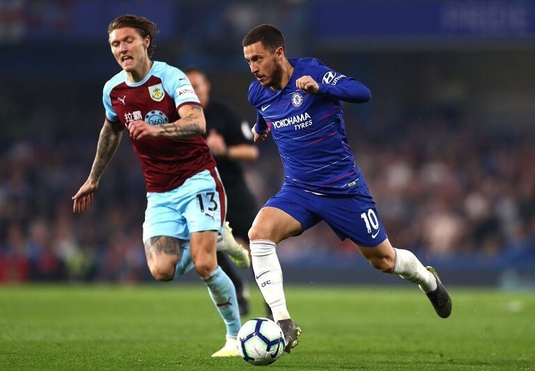 Chelsea held by Burnley as they go above Arsenal