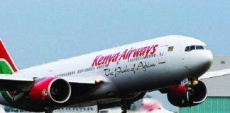 Kenya Airways plane fails to take off at JKIA following a bomb scare