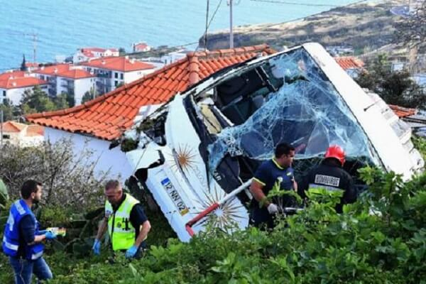 Madeira bus accident kills at least 29 tourists