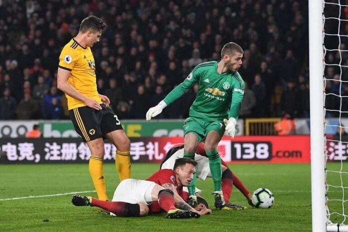 Manchester United beaten by Wolves to retain fifth position