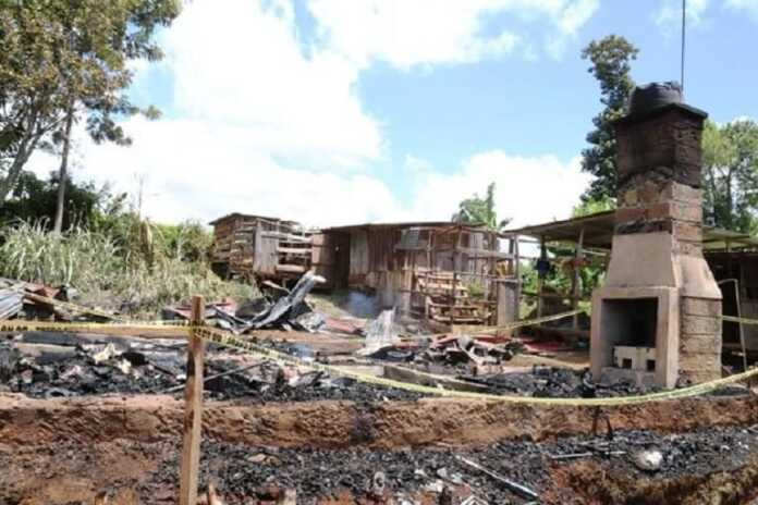 Meru family of four burnt beyond recognition in a house fire