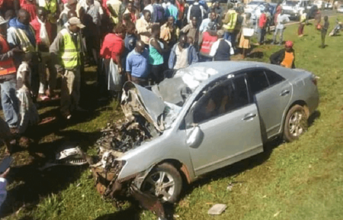 Nyamira accident kills two among them a county officer