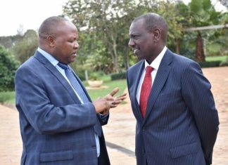 DP Ruto summoned over confrontation with PS Kibicho