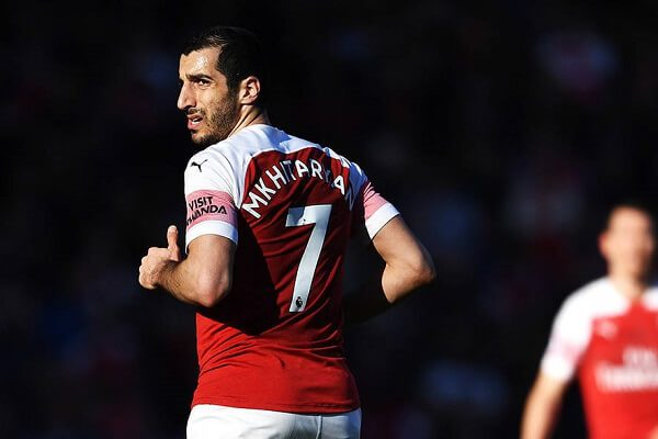 Arsenal to miss Mkhitaryan in the Europa League final
