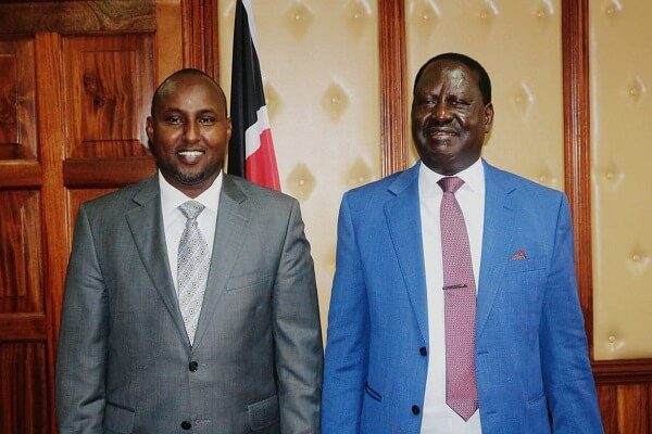 Junet Mohamed and Miguna involved in a Twitter exchange