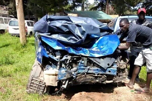 Kalenjin musician Aaron Michael involved in an accident