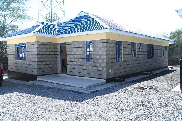 Machakos County build houses for police based in Athi-River