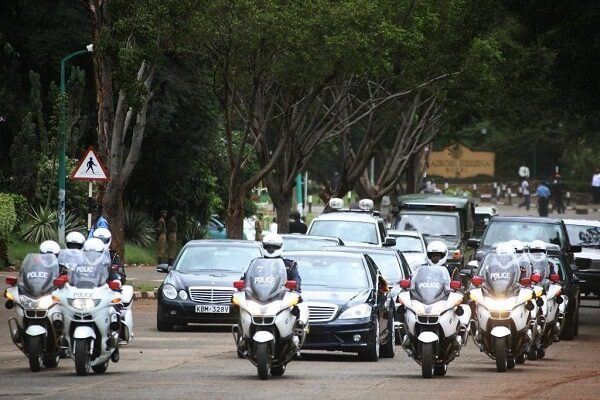 National Police list VIPs entitled to special road clearance