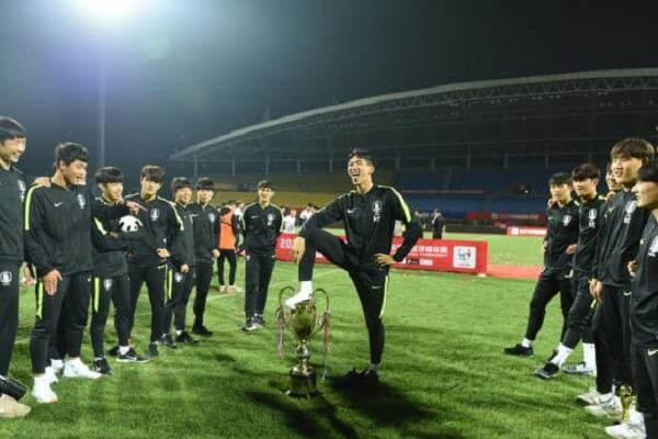South Korea U18 apologize for their disrespectful celebration