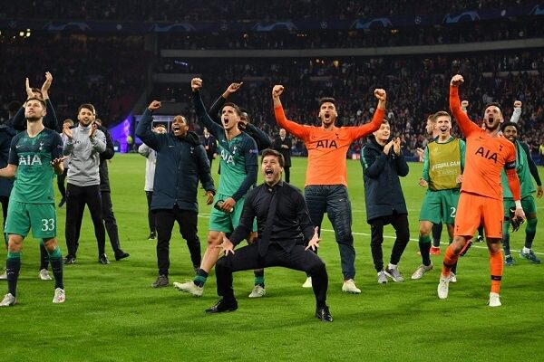 Tottenham beat Ajax to make it an all English affair