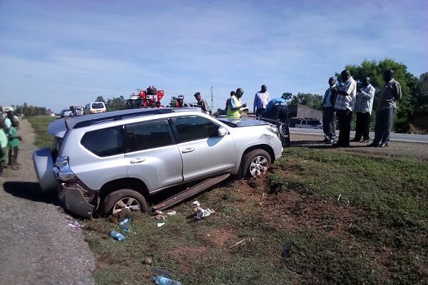 Ugandan High Commissioner to Kenya involved in an accident