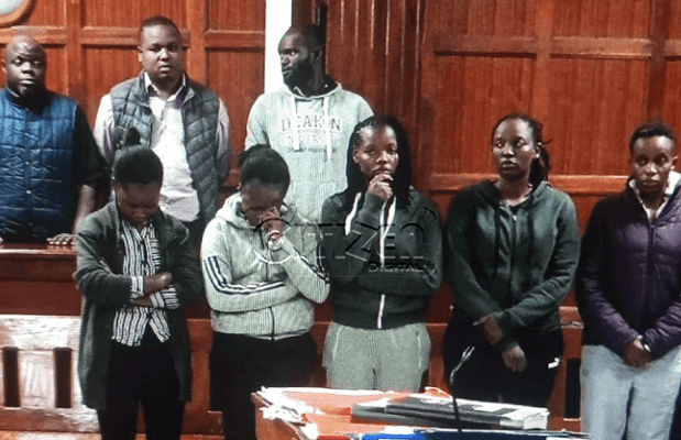 Eight arraigned in court for failing to a Ksh 4.4m hotel bill