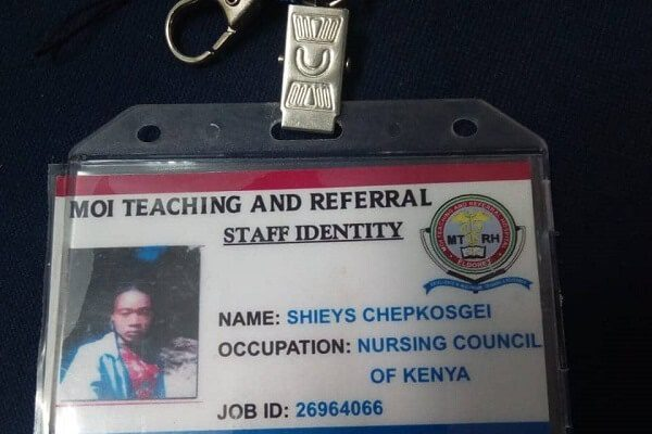 Moi Hospital discover male intern impersonating as a woman