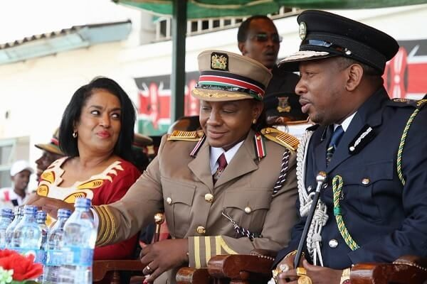 Governor Sonko and Passaris photoshoped on bed together