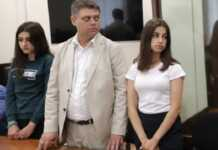 Protest in Russia as sisters who killed abusive father face jail term