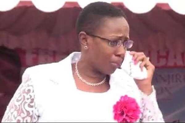 Women Rep. Sabina Chege in tears as home crowd booed her