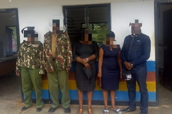 Two AP officers arrested in Kwale County for extortion