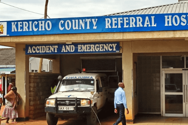 Panic as woman is admitted in Kericho with Ebola symptoms