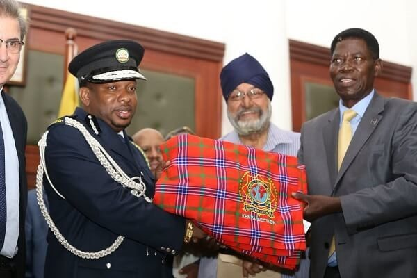 Sonko awarded International Police Association-Kenya award