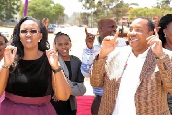 Governor Waititu and wife still at large, three arrested
