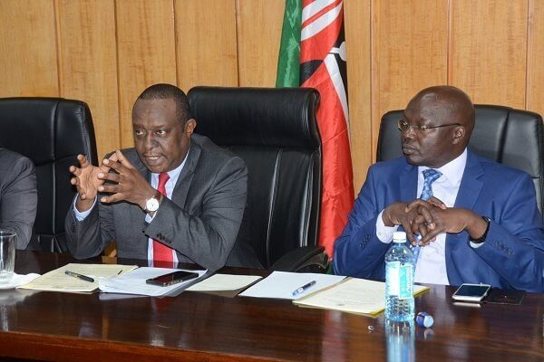 CS Rotich surrenders to DCI over Arror-Kimwarer dam scandal