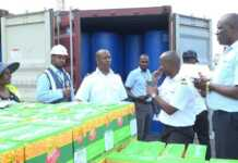 KRA intercepts Ethanol and a Range Rover Mombasa port