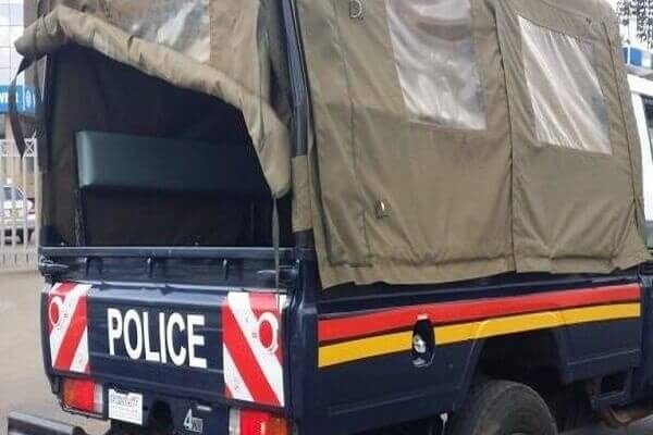 Angry Kisii County residents storm a police station