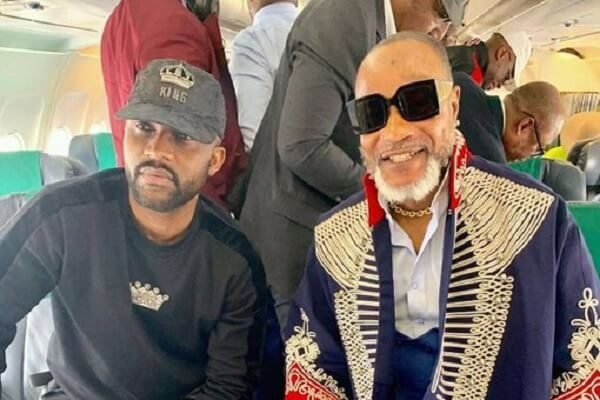 Fally Ipupa an dKoffi Olomide among celebrities at DJ Arafat concert