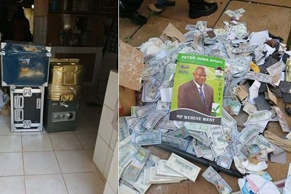 Fake currency worth Ksh 100m seized at a politician house