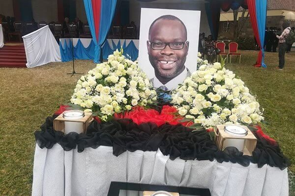 Kibra MP Ken Okoth cremated early Saturday morning