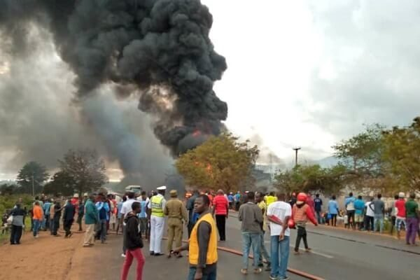 Tanzania fuel tanker explosion kills 57,65 injured