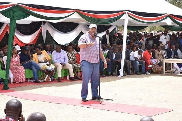 Governor Ferdinand Waititu has vowed he will continue to serve the people of Kiambu even after he was barred from accessing his offices. Speaking following his release, Governor Waititu said that he will set up an office even if its under a tree that he will use to serve Kiambu residents. The Kiambu Governors sentiments comes days after he was released on Ksh 15 million following his arrest. Susan Ngungu the wife to Governor Waititu was released on Wednesday after she was able to raise Ksh 4 million bail to secure her release. Waititu and Susan were both arrested for graft allegation that implicated eight others including Kiambu County Chief Executive Officer Lucas Mwangi. All the suspects are accused of issuing illegal tenders worth Ksh 588 to rehabilitate infrastructure in Kiambu. Charges against them include abuse of office, conflict of interest and issuance of tender contrary to procurement law.