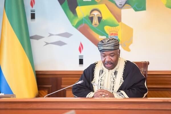 President Ali Bongo of Gabon plays down rumors of him being hospitalized
