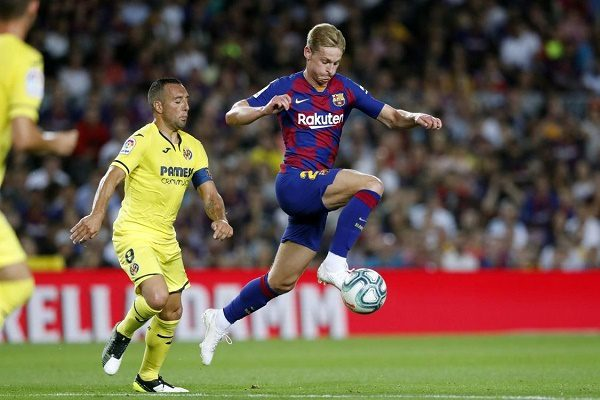 Barcelona vs Villarreal match end in Barca's favor