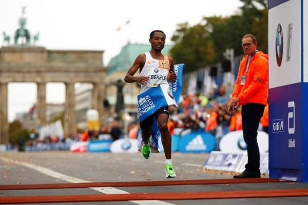Bekele wins Berlin Marathon two second behind Kipchoge's record
