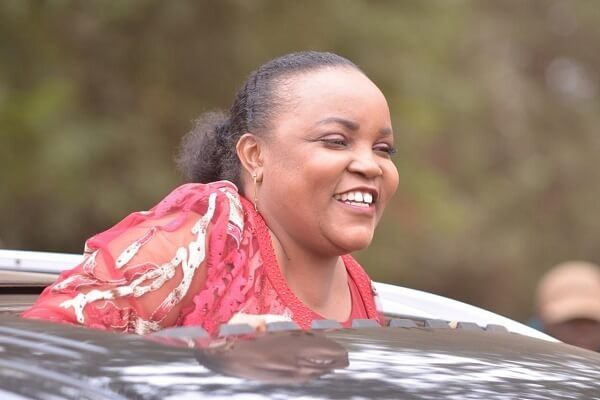Hon. Wangui Ngirici admits her wrong during road incident