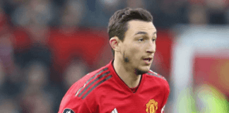 Manchester United defender Matteo Darmian leaves for Parma