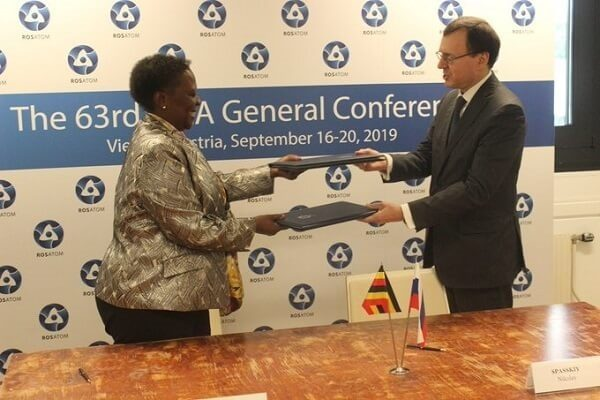 Uganda sign a Nuclear energy deal with a Russian firm
