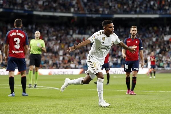 Real Madrid vs Osasuna match ends in favor of the host
