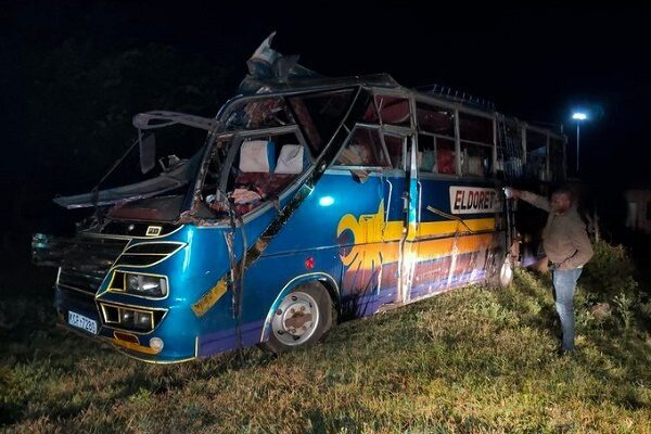 13 feared dead in morning Awasi accident involving Eldoret Express bus and a trailer