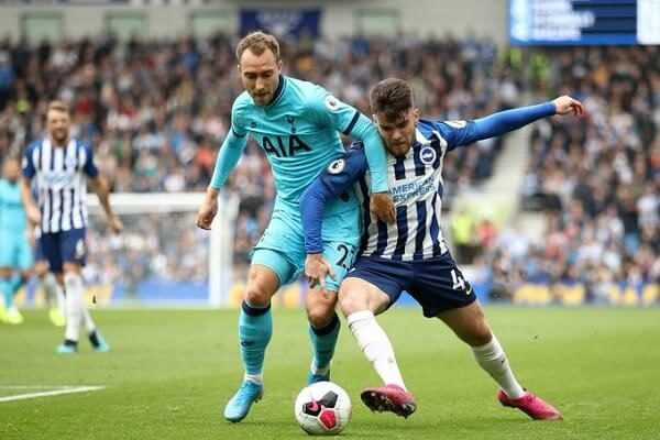 Tottenham suffer second defeat in a row at Brighton