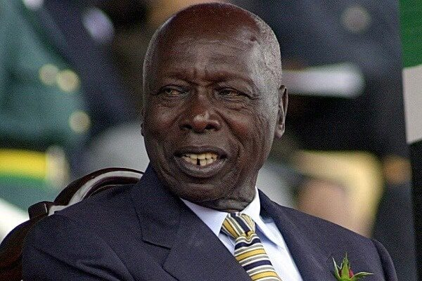 Ex-president Daniel Moi re-admitted to hospital