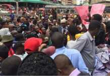 Residents of Eastleigh protest removal of Abdi Guyo