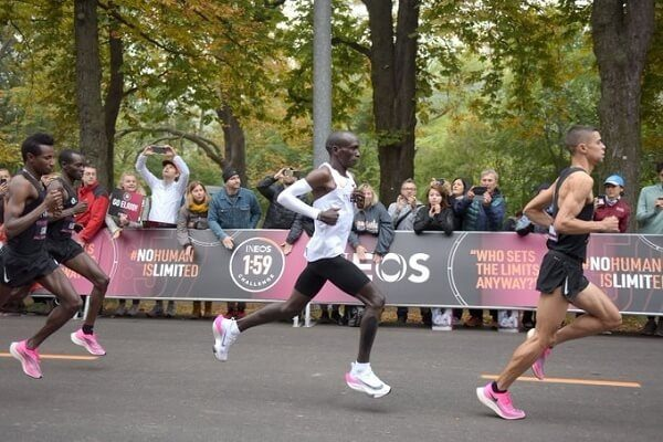 History made as Kipchoge completes marathon under 2 hrs