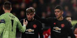 AZ Alkamar hold Manchester United to a goalless draw in the Europa League