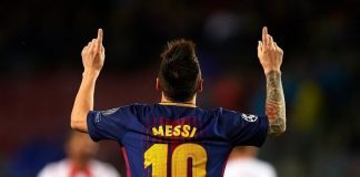 Lionel Messi awarded six European golden boot(