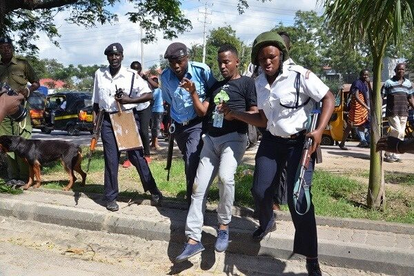 Human rights activists arrested in Mombasa